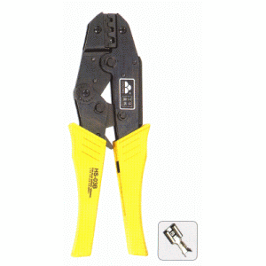 TERMCO Open Barrel Ratchet Crimping Tool For F Type Terminals THCRF15